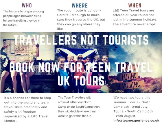 Travellers not Tourists