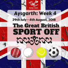 Aysgarth Week 4 – The Great British Sport Off