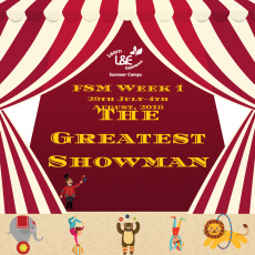 FSM Week 1 – The Greatest Showman